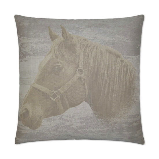 Mister Ed Pillow in Taupe