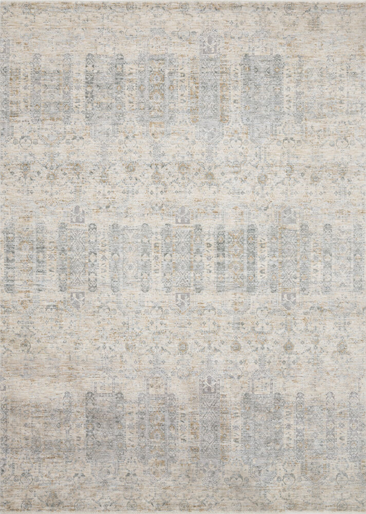 Loloi Pandora Power Loomed Rug in Ivory/ Mist