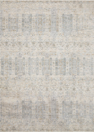 Loloi Power Loomed 5'x8' Rug in Ivory/ Mist