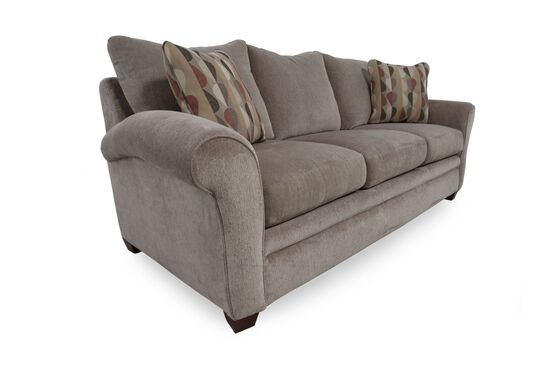 Low Profile 86 Sofa In Brown Mathis Brothers Furniture