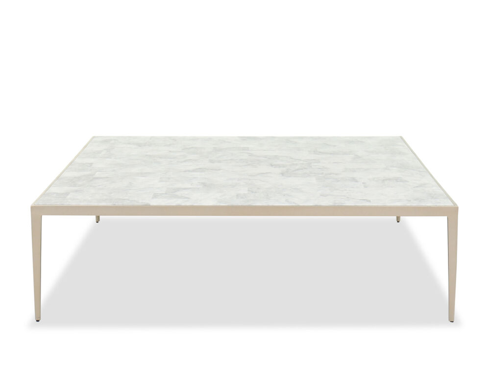 60 Venetian Marble Cocktail Table Mathis Brothers Furniture