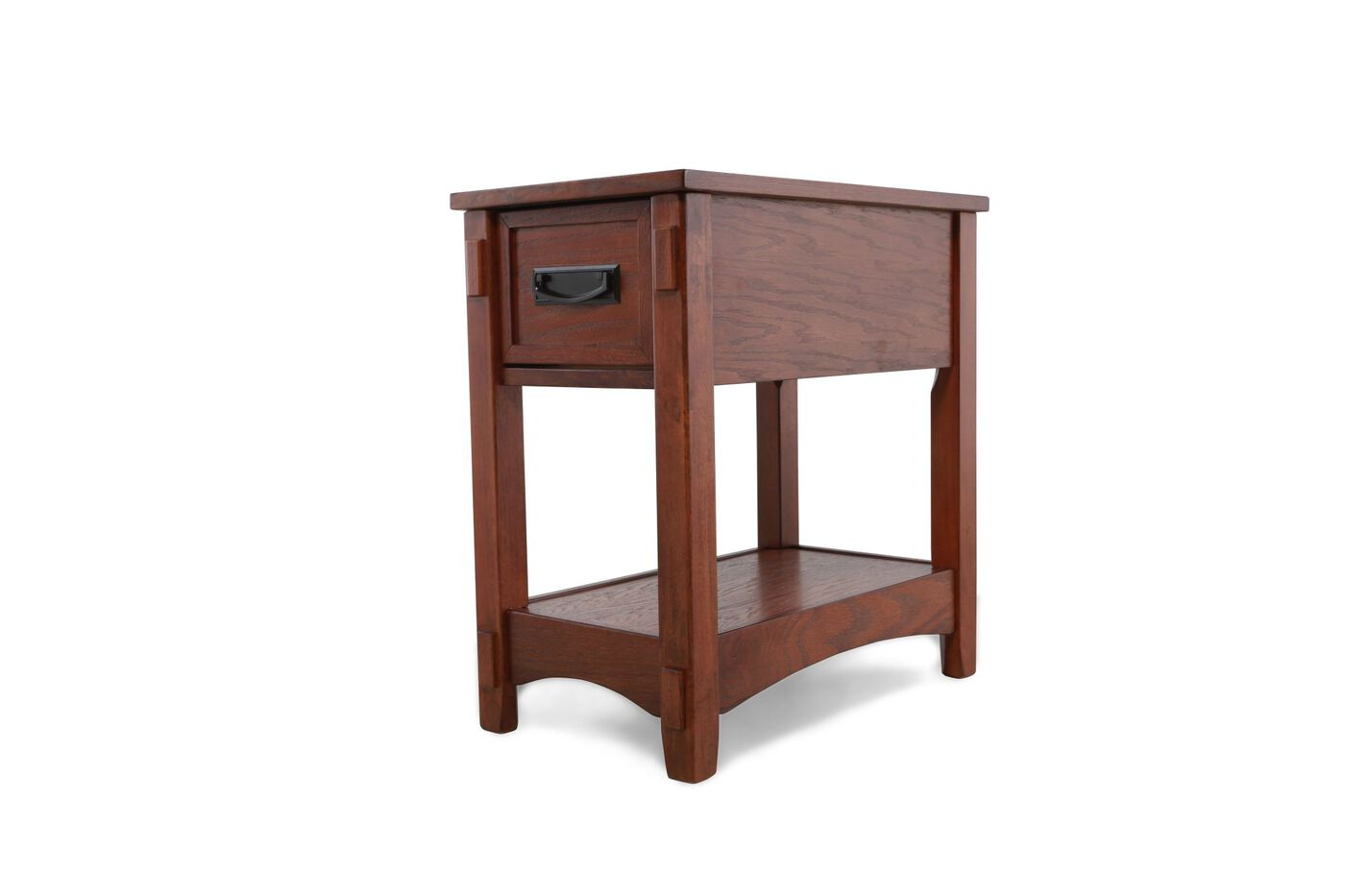 Contemporary one drawer chairside accent end table in for Designer occasional tables