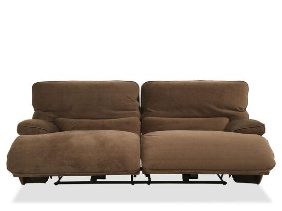 Casual Power Reclining Sofa in Coffee