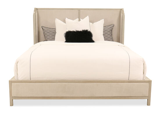 """60"""" King Shelter Bed in Shadow Gray"""