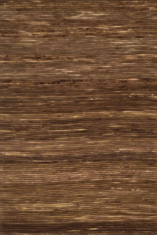 """Contemporary 5'-0""""x7'-6"""" Rug in Brown"""
