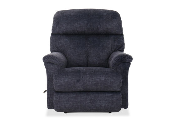 "36"" Casual Wall Saver Recliner in Navy"
