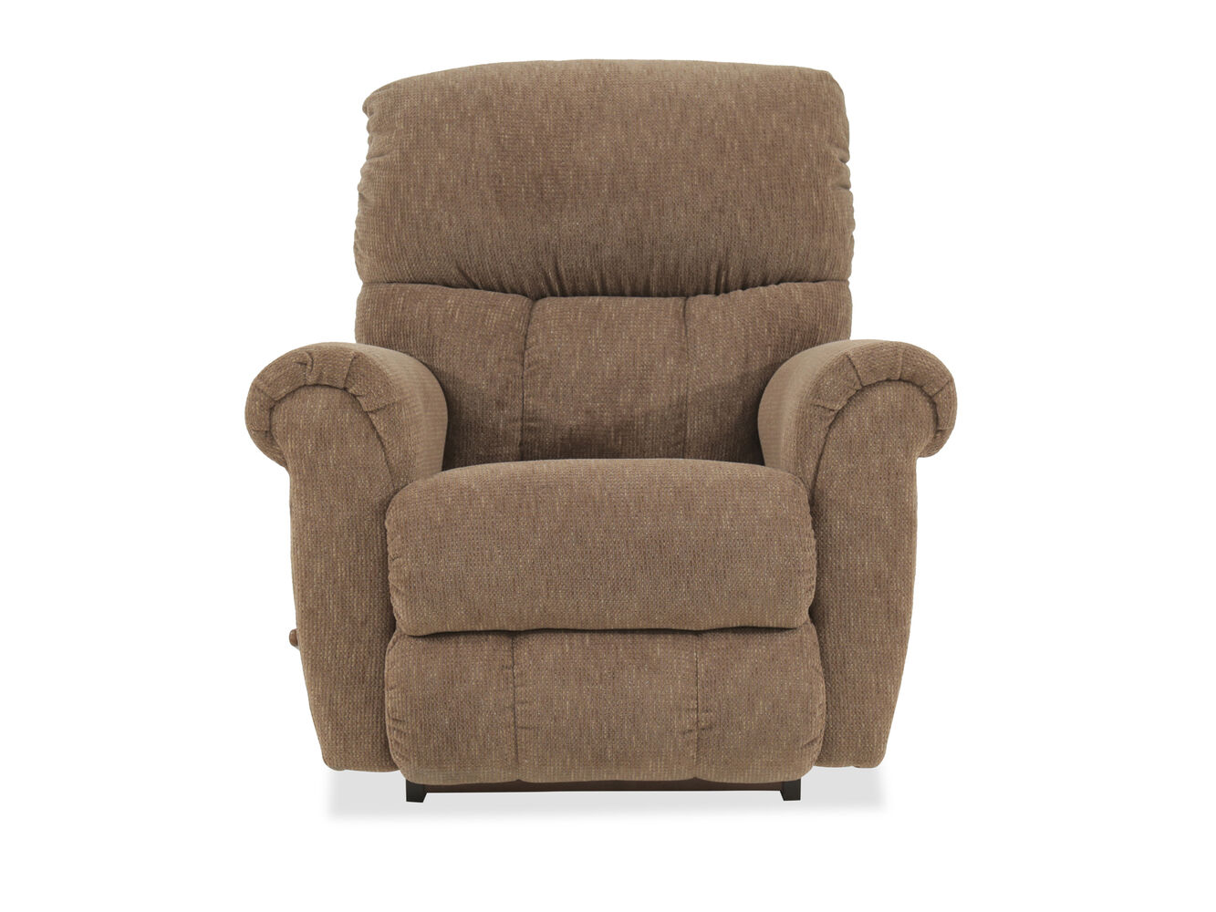 Pillow Top-Arm Casual Recliner In Brown