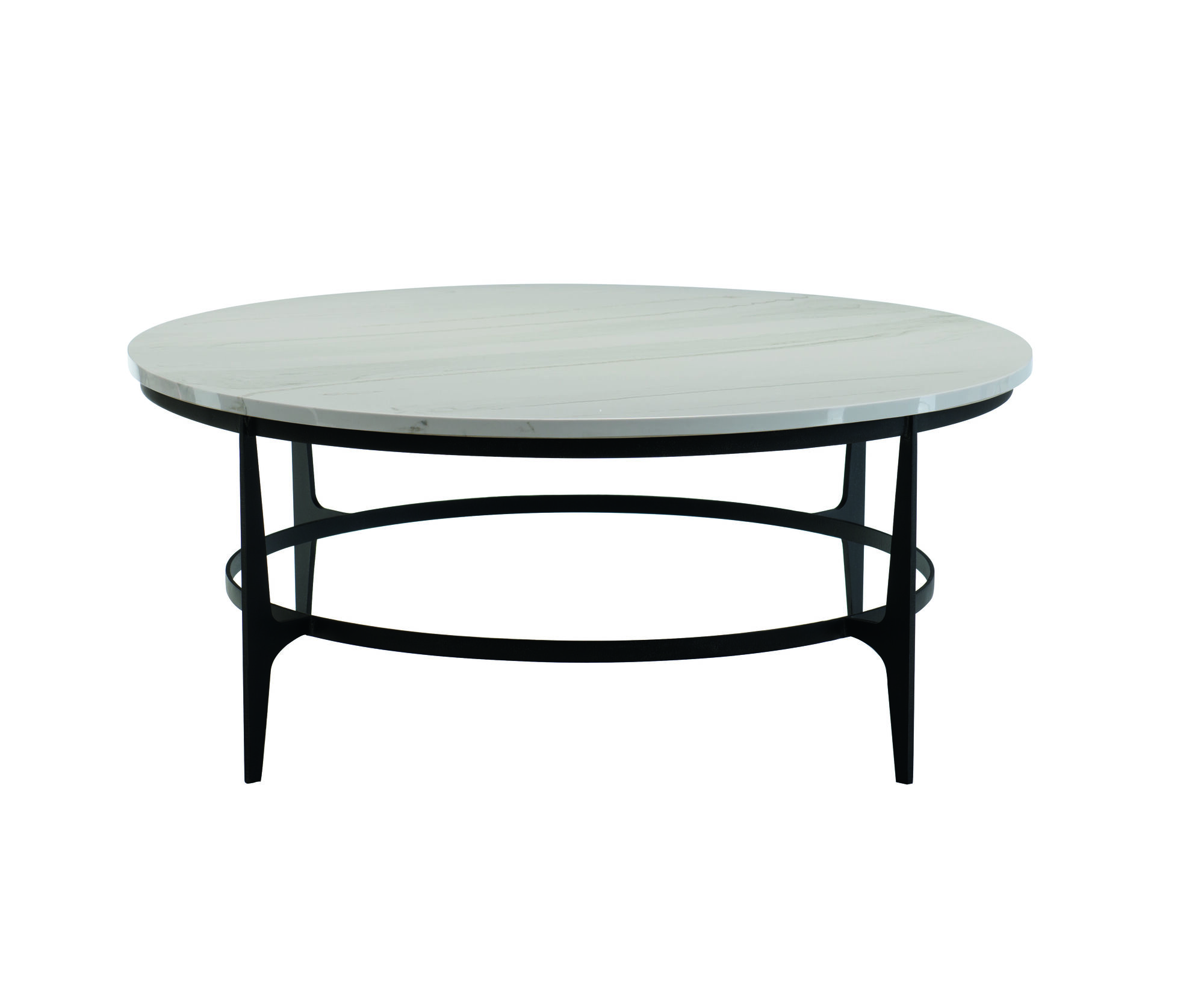 Avondale Round Metal Cocktail Table Mathis Brothers Furniture