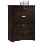 "39"" Traditional Four-Drawer Chest in Cinnamon Cherry"