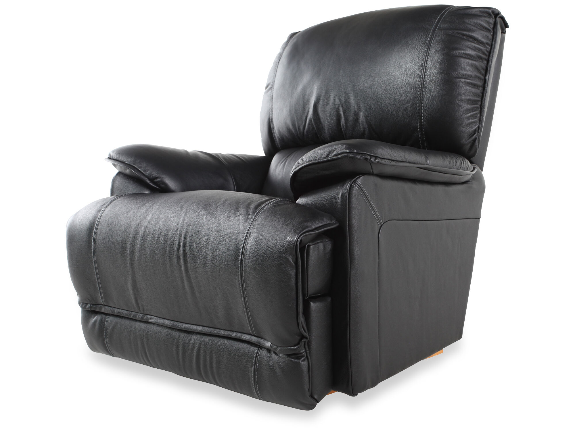 La-Z-Boy Niagara Black Leather Recliner  sc 1 st  Mathis Brothers & La-Z-Boy Niagara Black Leather Recliner | Mathis Brothers Furniture islam-shia.org
