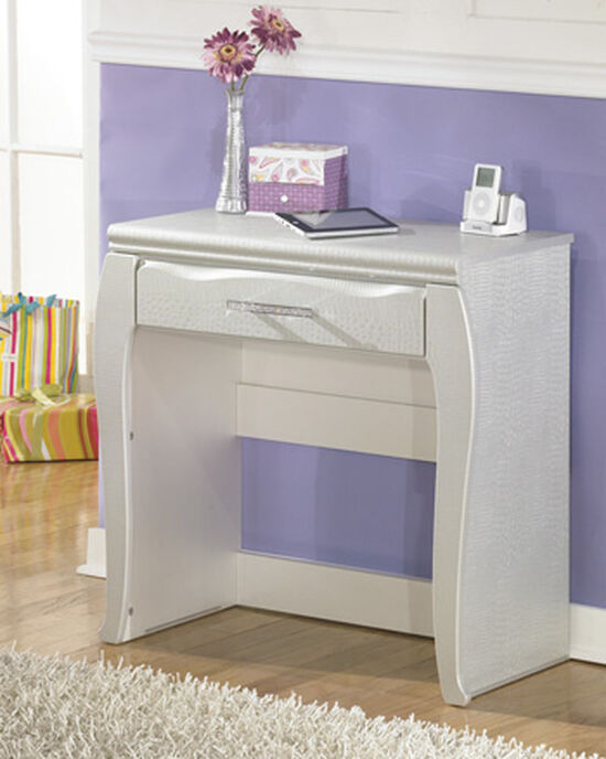 One-Drawer Casual Youth Vanity in White