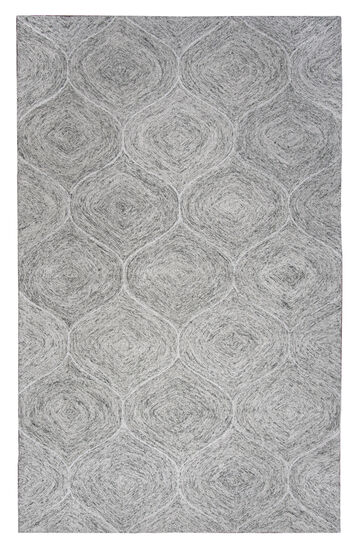 "Casual/Transitional Hand-Tufted 2'6""  x  8' Runner Rug in Gray"