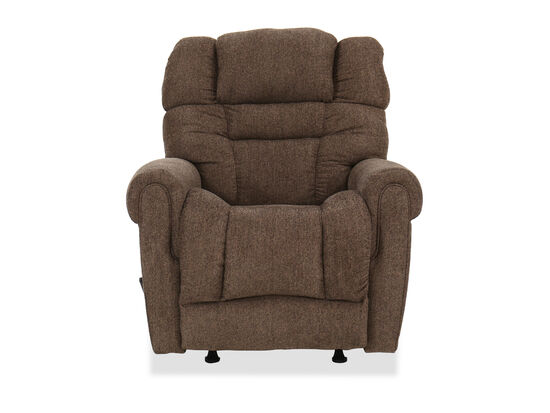 "Traditional 39"" Rocker Recliner in Saddle"