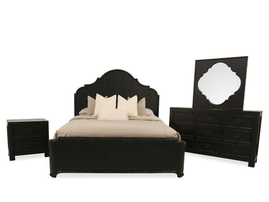 Four-Piece Traditional Queen Suite in Kettle Black