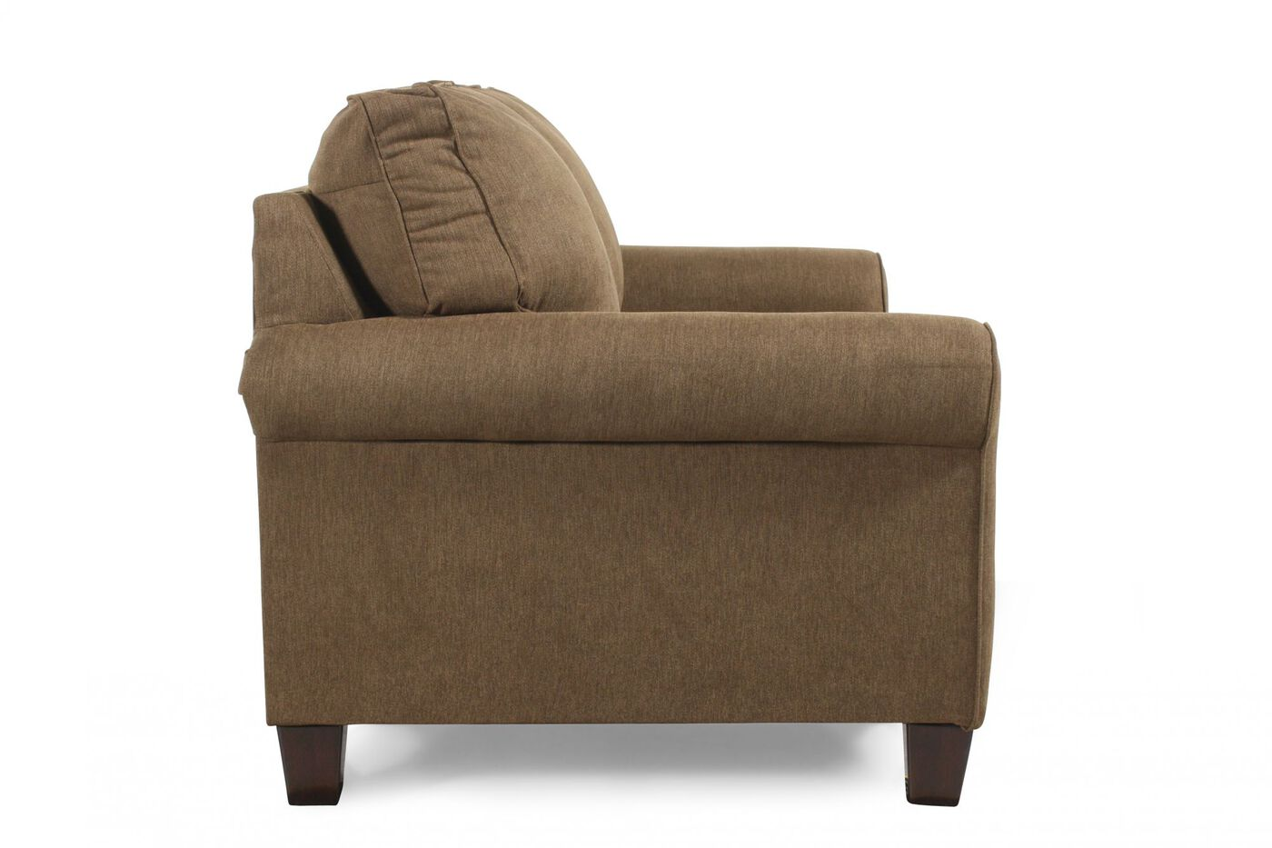 Contemporary 78 Quot Twin Sleeper Loveseat In Basil Green