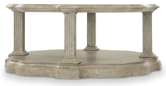 Dahlia Round Cocktail Table in Griege