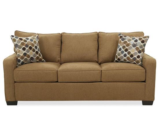 Casual Queen Sofa Sleeper in Latte