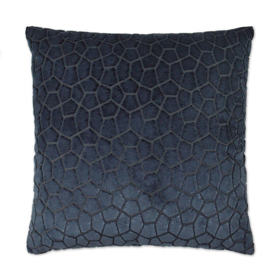 Flintstone Pillow in Navy Blue