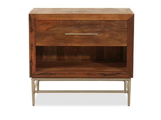 "29"" Casual One-Drawer Nightstand"