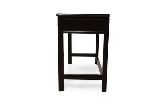 Three-Drawer Traditional Student Desk in Black Cherry