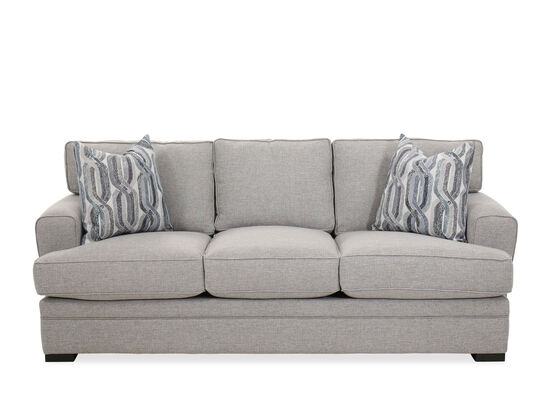Casual 87'' Sofa in Gray