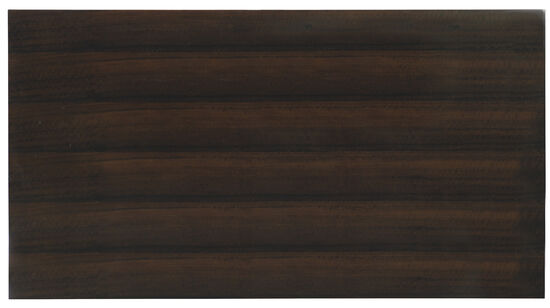Melange Adora Cocktail Table in Dark Wood