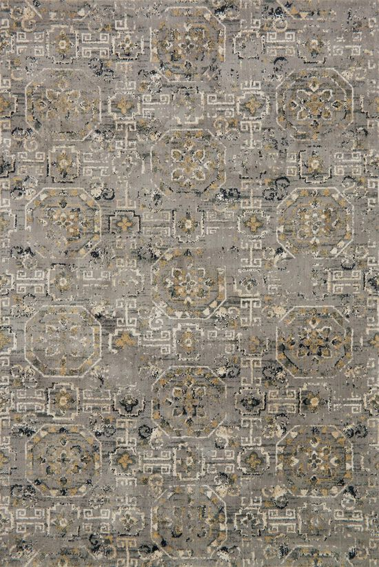 """Transitional 2'-7""""x8'-0"""" Rug in Grey"""
