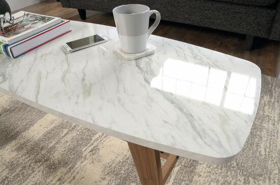 Rectangular Contemporary Coffee Tablein Fine Walnut