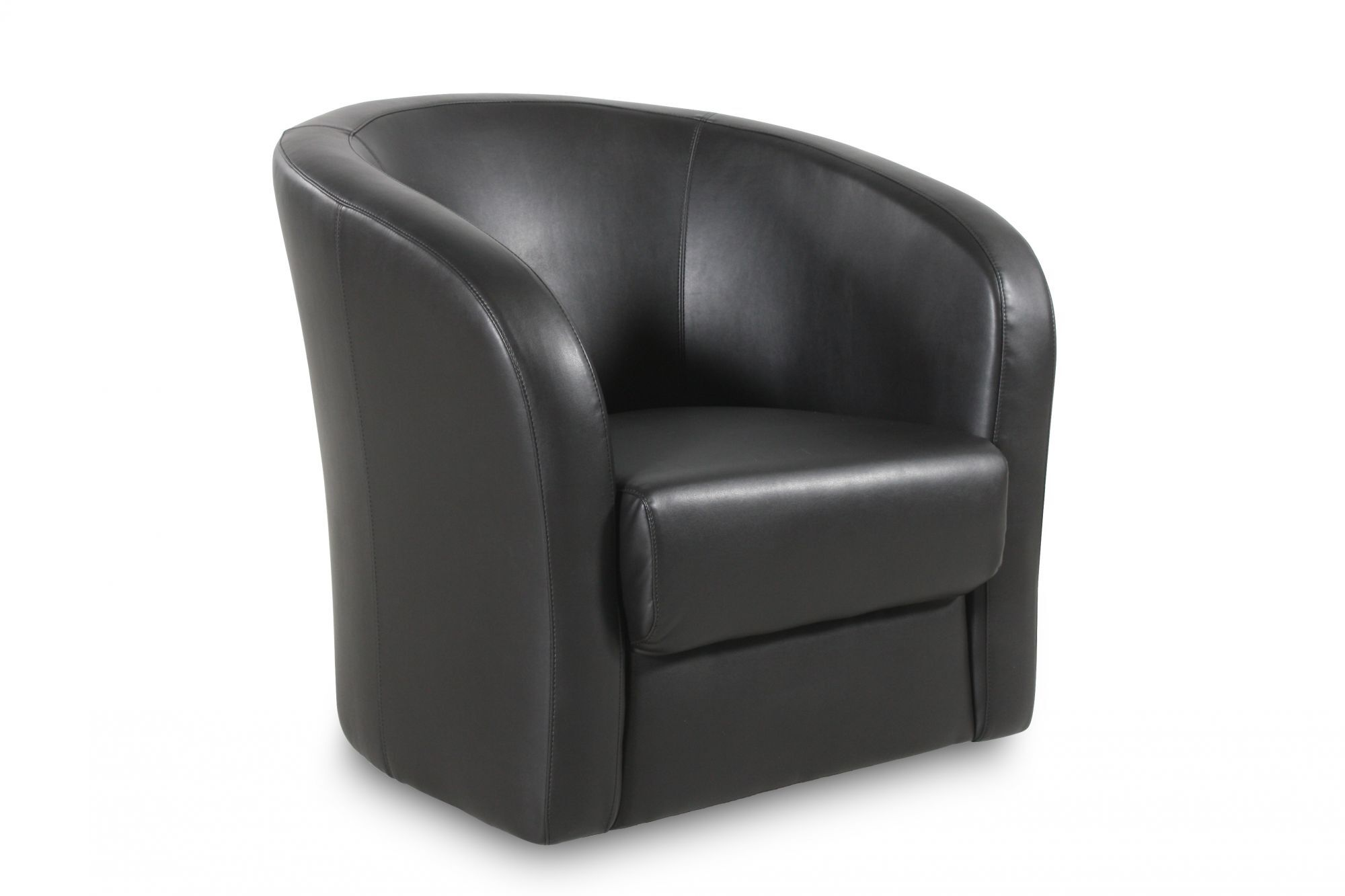 enchanting low seating living room furniture | Low-Back Swivel Chair in Onyx | Mathis Brothers Furniture