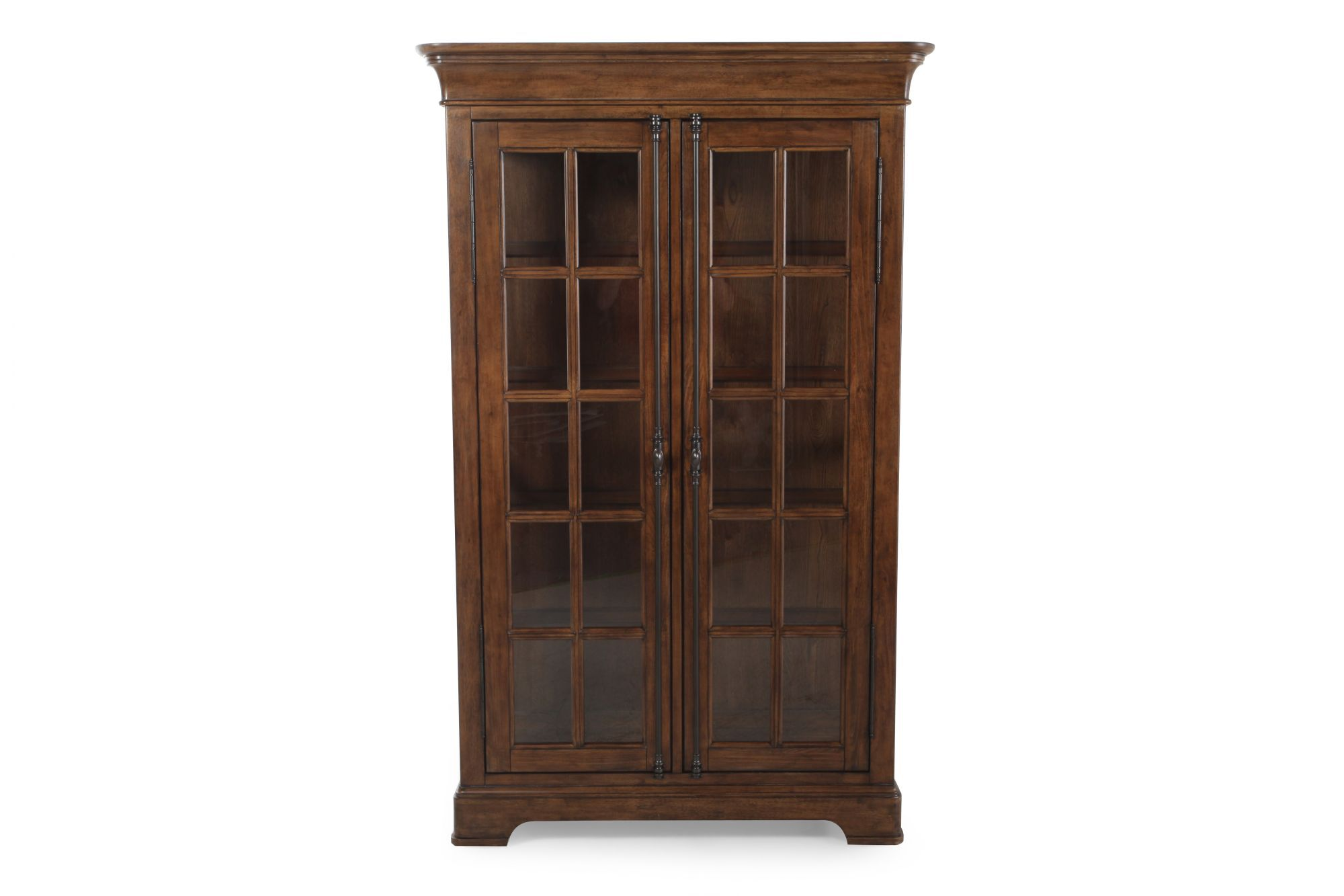Images Traditional Rectangular Double Door China Cabinetu0026nbsp;in Light Oak  Traditional Rectangular Double Door China Cabinetu0026nbsp;in Light Oak