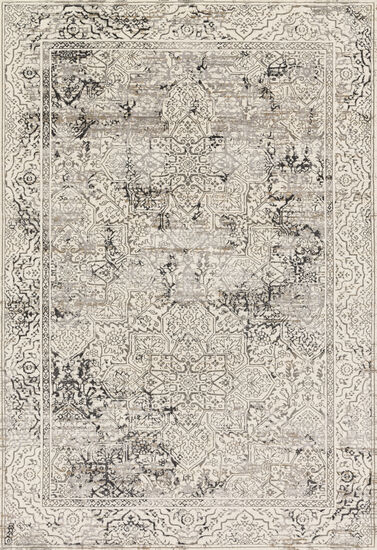 Loloi Power Loomed 5'3''x7'6'' Rug in Ivory/Grey