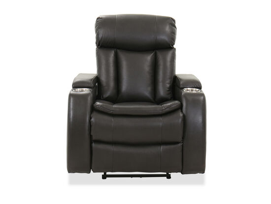 Casual Power Recliner in Gray