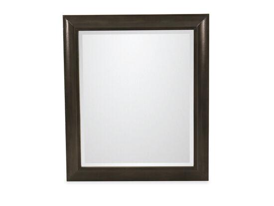 "38"" Casual Beveled Mirrorin Black"