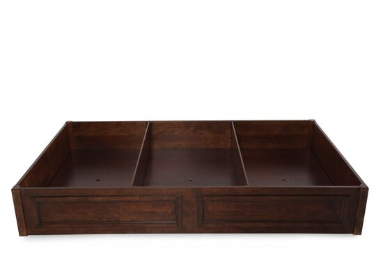 Contemporary Youth Storage Drawer Unit in Brown