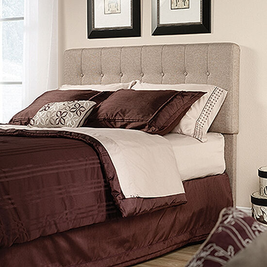 Button Tufted Queen Headboard in Camel