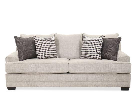 Transitional 89'' Sofa in Pom Pom Steel