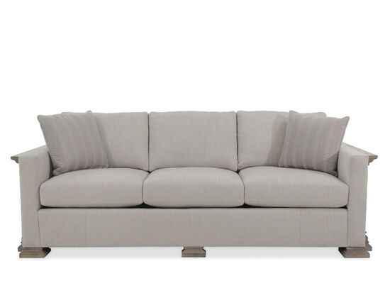 "Modern 94"" Sofa in Light Gray"