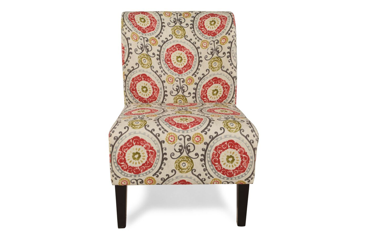 Floral Tapestry Contemporary 22 Quot Accent Chair Mathis