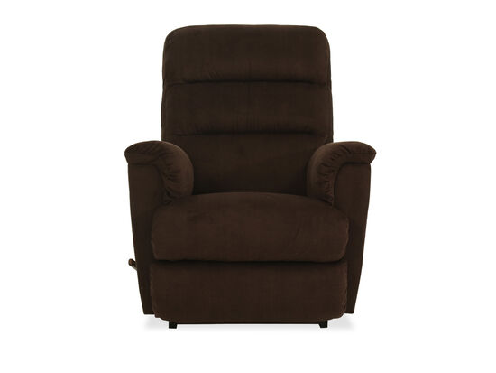 Corded Casual 34.5'' Rocker Recliner in Brown