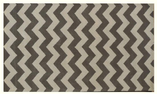Lb Rugs|7-13 (chevron)|Hand Tufted Wool 5' X 8'|Rugs