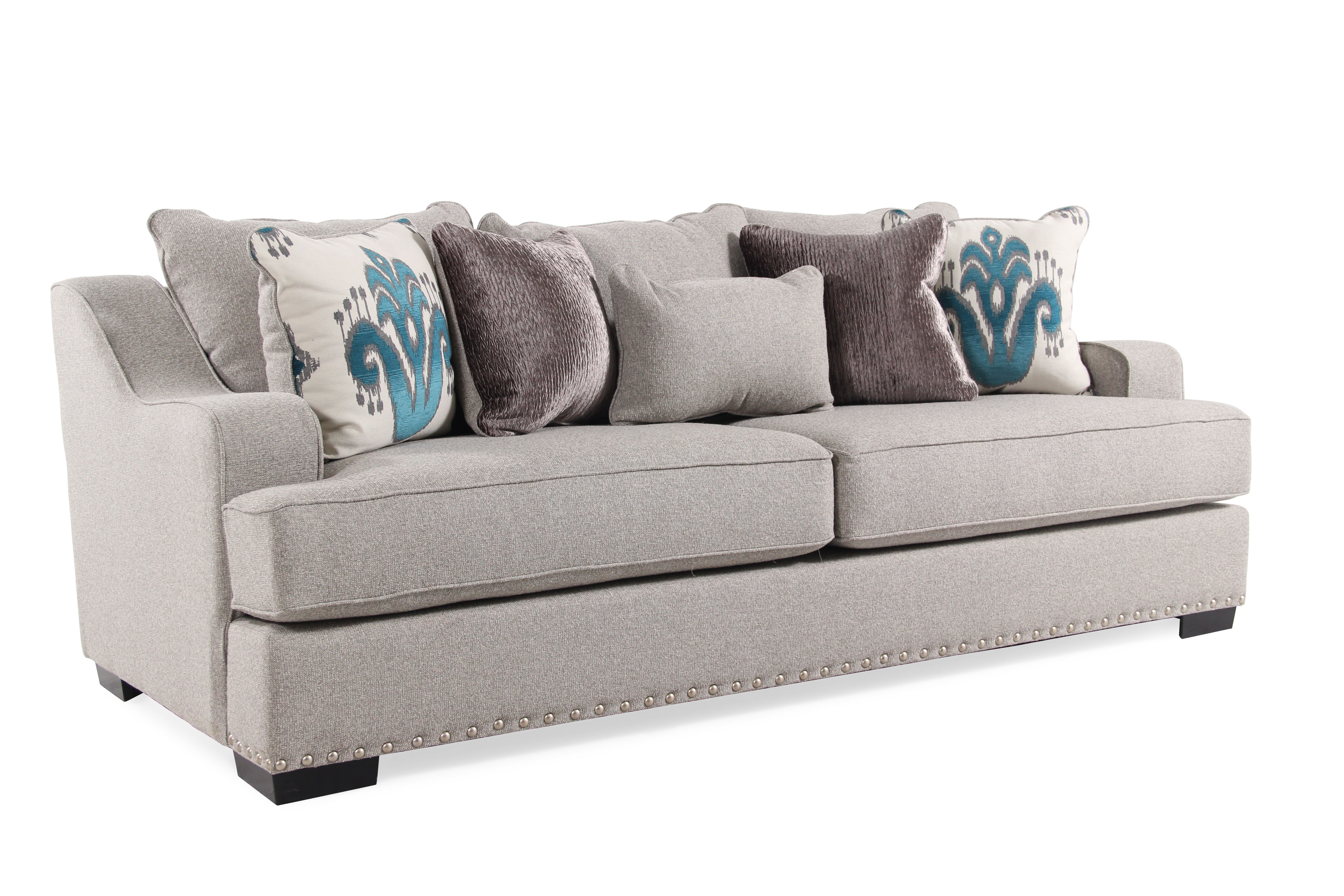 Michael Nicholas Jayne Sofa Mathis Brothers Furniture  sc 1 st  Sofa Hpricot.com : michael nicholas designs sectional - Sectionals, Sofas & Couches