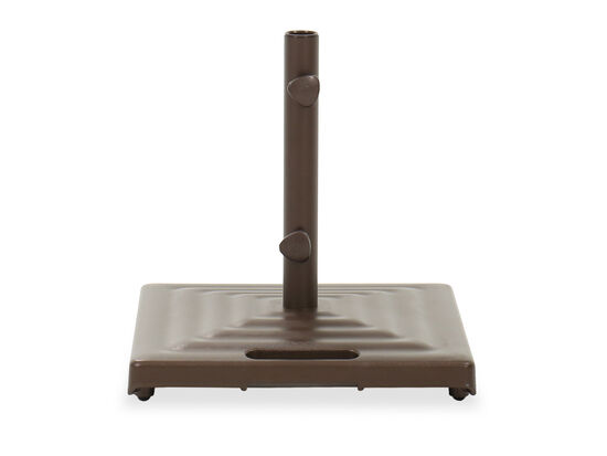 Casual Umbrella Base and Handle in Bronze