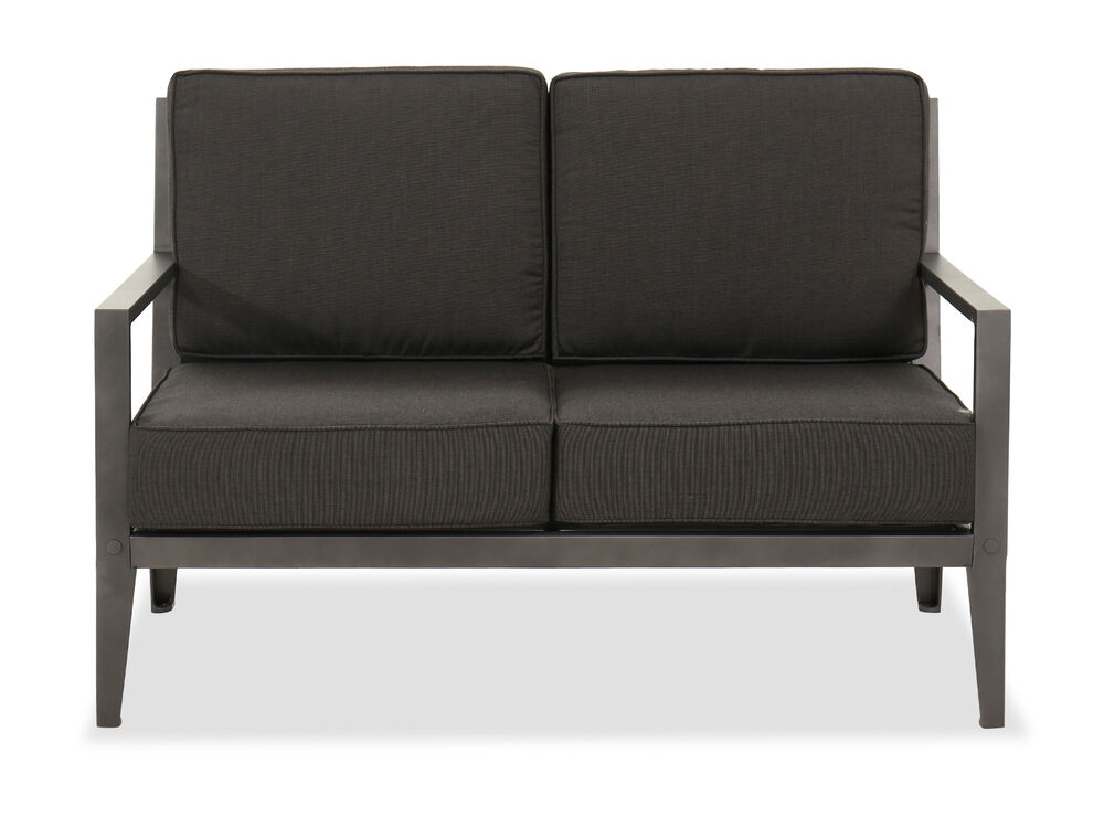 Casual Patio Loveseat in Gray
