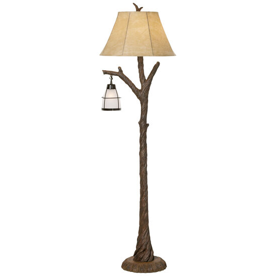 Mountain Wind Lamp in Brown