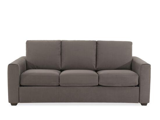 """Casual 82"""" Queen Sleeper Sofa in Gray"""