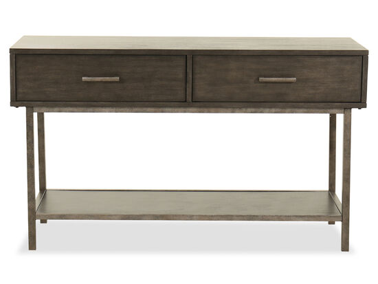 Rectangular Sofa Table in Smoke