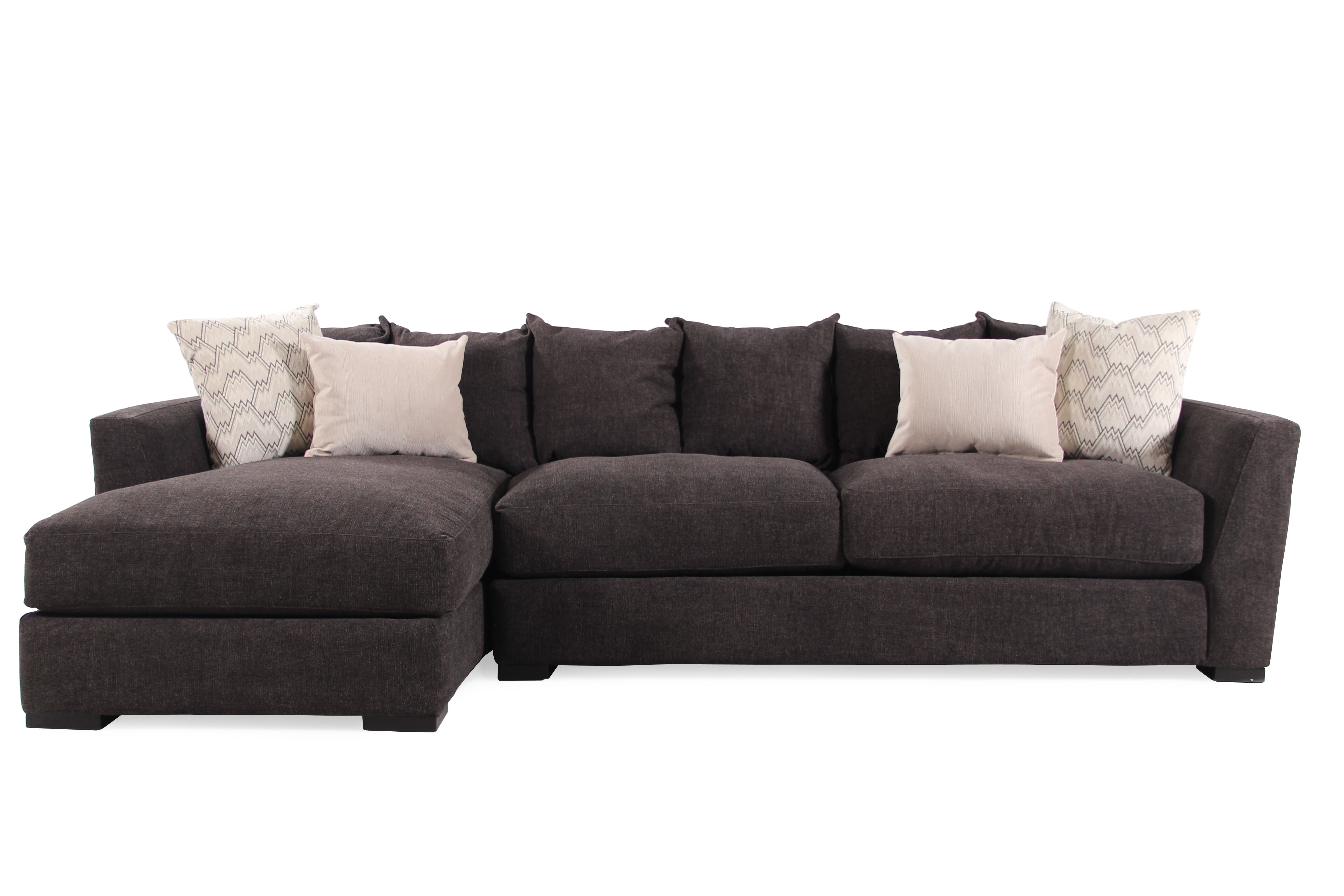 Jonathan Louis Harvey Two-Piece Sectional  sc 1 st  Mathis Brothers : jonathan louis sectional - Sectionals, Sofas & Couches