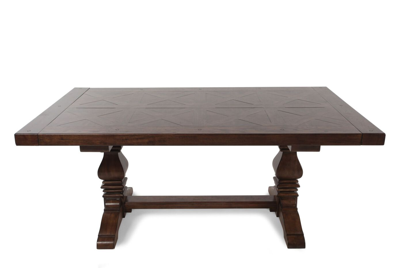 Traditional 72 To 108 Double Pedestal Dining Table