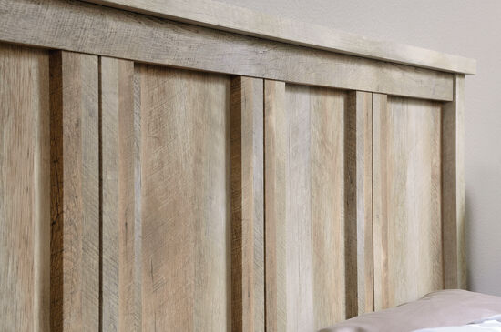"Contemporary 56"" Full/Queen Headboard in Lintel Oak"