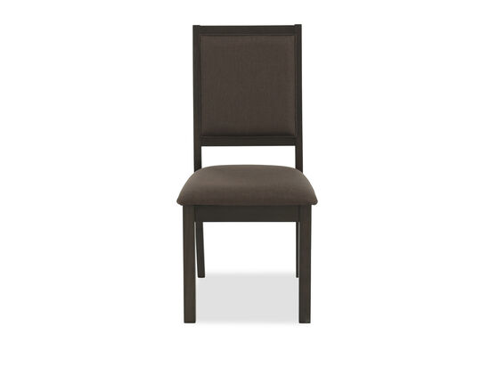 """Contemporary 30"""" Side Chair in Dark Brown"""